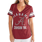 G-III For Her Women's Alabama Crimson Tide Crimson Wildcard V-Neck T-Shirt