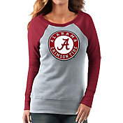 G-III For Her Women's Alabama Crimson Tide Grey/Crimson Top Ranking Tunic