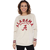 Touch by Alyssa Milano Women's Alabama Crimson Tide Backfield White Top