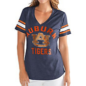 G-III For Her Women's Auburn Tigers Blue Wildcard V-Neck T-Shirt
