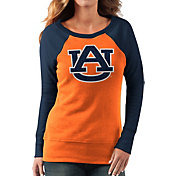 G-III For Her Women's Auburn Tigers Orange/Blue Top Ranking Tunic