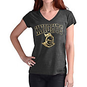 Touch by Alyssa Milano Women's UCF Knights Alumni Black V-Neck T-Shirt