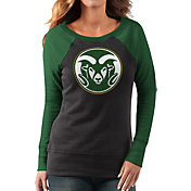 G-III For Her Women's Colorado State Rams Black/Green Top Ranking Tunic