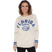 Touch by Alyssa Milano Women's Florida Gators Backfield White Top