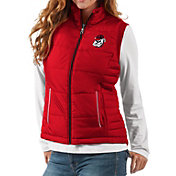 G-III For Her Women's Georgia Bulldogs Red First Down Polyfill Vest
