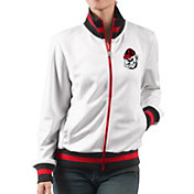 G-III For Her Women's Georgia Bulldogs Field Goal White Track Jacket