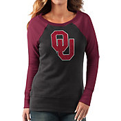 G-III For Her Women's Oklahoma Sooners Black/Crimson Top Ranking Tunic