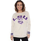 Touch by Alyssa Milano Women's LSU Tigers Backfield White Top