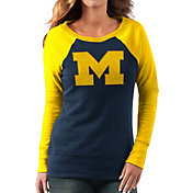 G-III For Her Women's Michigan Wolverines Blue/Maize Top Ranking Tunic