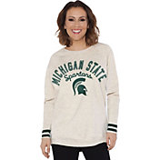 Touch by Alyssa Milano Women's Michigan State Spartans Backfield White Top