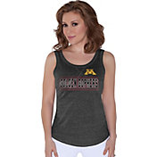 G-III For Her Women's Minnesota Golden Gophers Playoff Black Tank Top