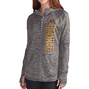 G-III For Her Women's Minnesota Golden Gophers Grey Defender Full-Zip Hoodie