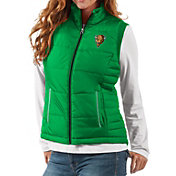 G-III For Her Women's Marshall Thundering Herd Green First Down Polyfill Vest