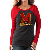G-III For Her Women's Maryland Terrapins Black/Red Top Ranking Tunic