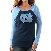 G-III For Her Women's North Carolina Tar Heels Navy/Carolina Blue Top Ranking Tunic