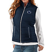G-III For Her Women's Penn State Nittany Lions Blue First Down Polyfill Vest