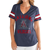 G-III For Her Women's Arizona Wildcats Navy Wildcard V-Neck T-Shirt