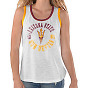 G-III For Her Women's Arizona State Sun Devils Reverse Standing White Tank Top