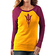 G-III For Her Women's Arizona State Sun Devils Gold/Maroon Top Ranking Tunic