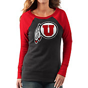 G-III For Her Women's Utah Utes Black/Crimson Top Ranking Tunic