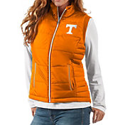G-III For Her Women's Tennessee Volunteers Tennessee Orange First Down Polyfill Vest
