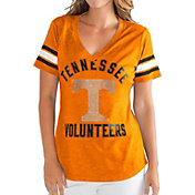 G-III For Her Women's Tennessee Volunteers Tennessee Orange Wildcard V-Neck T-Shirt