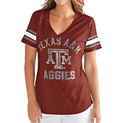 G-III For Her Women's Texas A&M Aggies Maroon Wildcard V-Neck T-Shirt