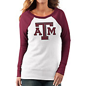 G-III For Her Women's Texas A&M Aggies White/Maroon Top Ranking Tunic