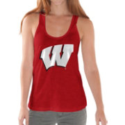 G-III For Her Women's Wisconsin Badgers Red Tank Top