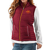 G-III For Her Women's Iowa State Cyclones Cardinal First Down Polyfill Vest