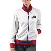 G-III Women's Buffalo Bills Field Goal Rhinestone Track Jacket