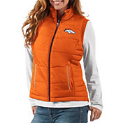 G-III Women's Denver Broncos First Down Orange Vest