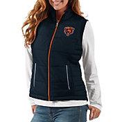 G-III Women's Chicago Bears First Down Navy Vest