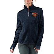 G-III Women's Chicago Bears Slap Shot Navy Full-Zip Jacket