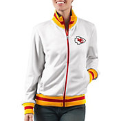 G-III Women's Kansas City Chiefs Field Goal Rhinestone Track Jacket