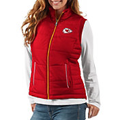 G-III Women's Kansas City Chiefs First Down Red Vest