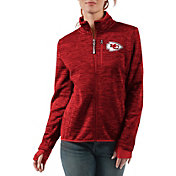 G-III Women's Kansas City Chiefs Slap Shot Red Full-Zip Jacket