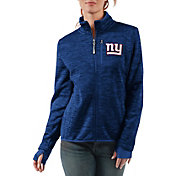 G-III Women's New York Giants Slap Shot Royal Full-Zip Jacket