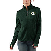 G-III Women's Green Bay Packers Slap Shot Green Full-Zip Jacket