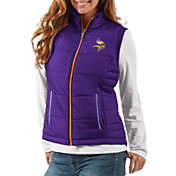 G-III Women's Minnesota Vikings First Down Purple Vest