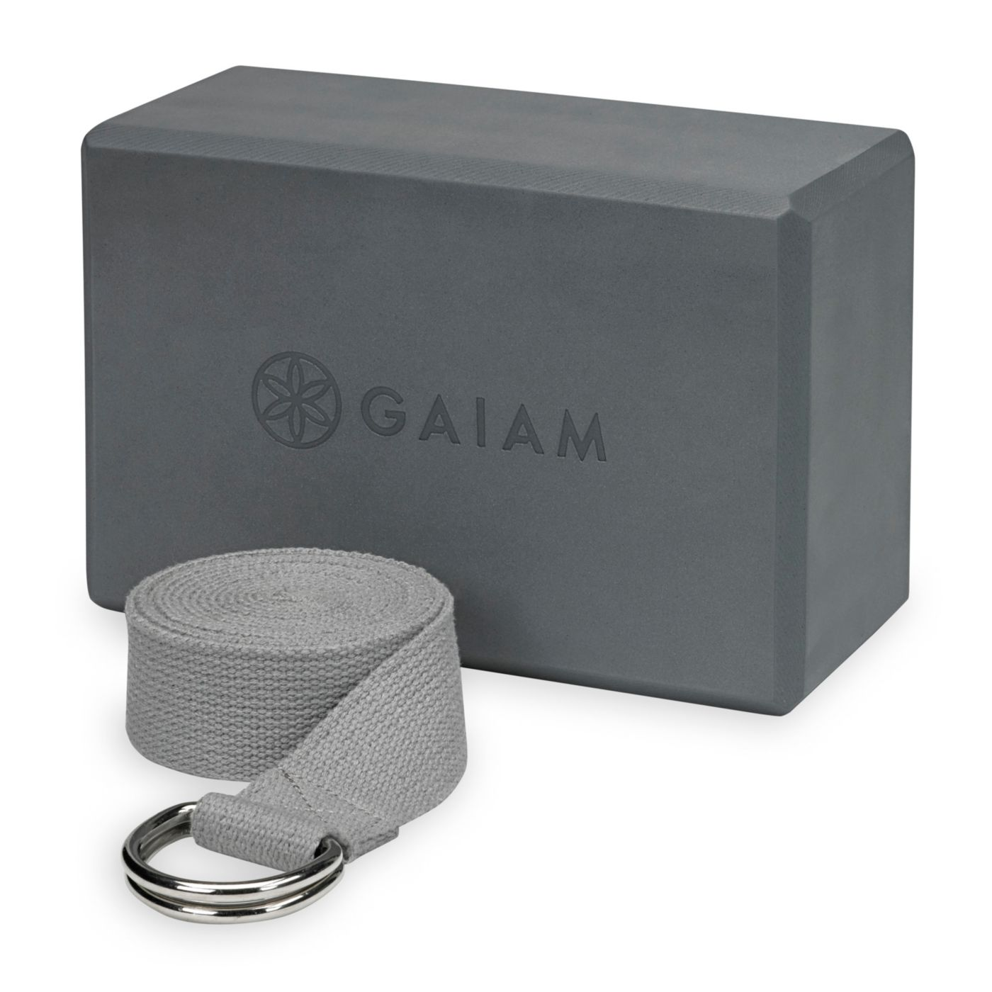 Gaiam Yoga Block/Strap Combo