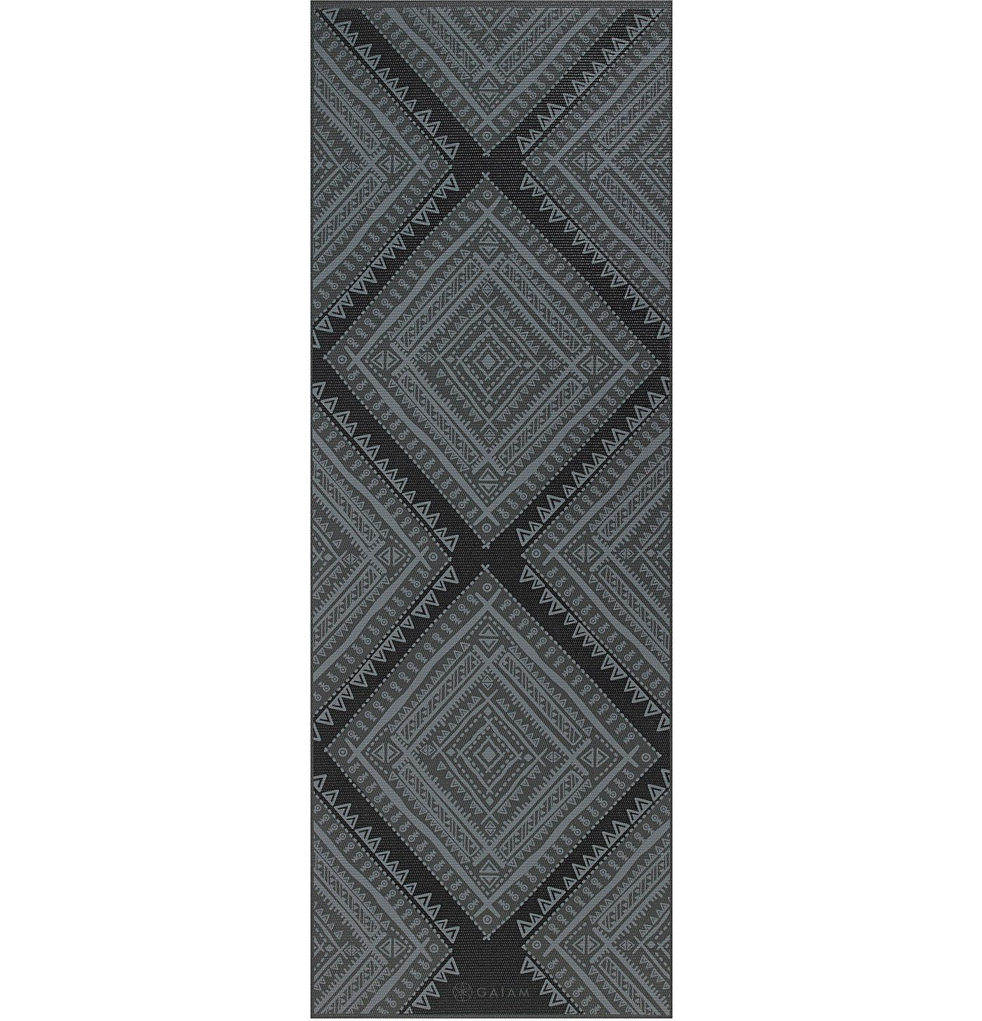 Gaiam Premium Print 5mm Yoga Mat