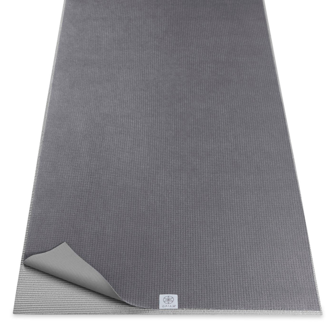 Gaiam Studio Select No-Slip Yoga Mat Towel