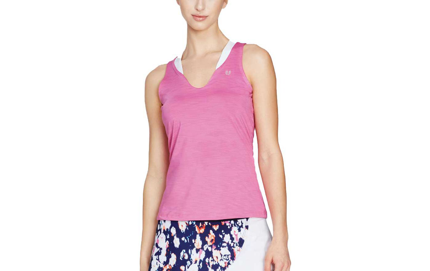 EleVen by Venus Women's Love Tennis Tank Top