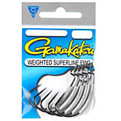 Gamakatsu Weighted Superline EWG Worm Hook