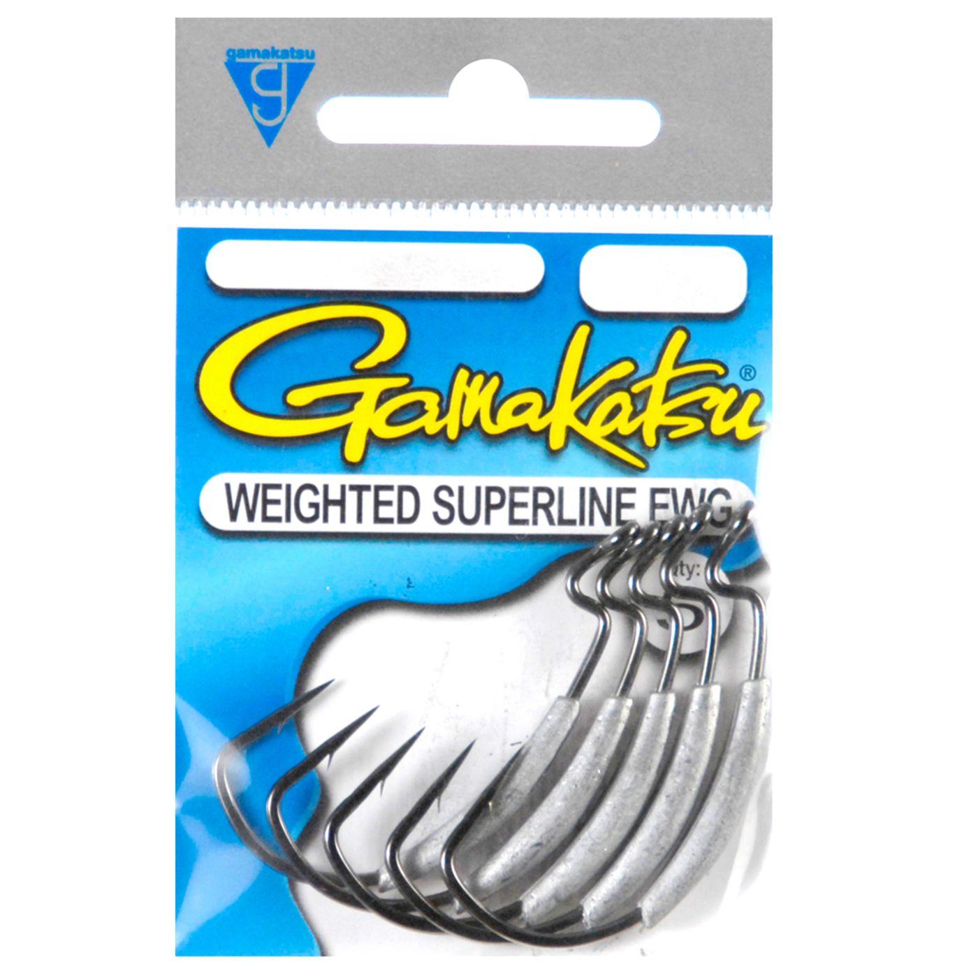 Gamakatsu Weighted Superline EWG Worm Hook