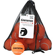GAMMA Pressureless Practice Tennis Bag-O-Balls - 12 Pack