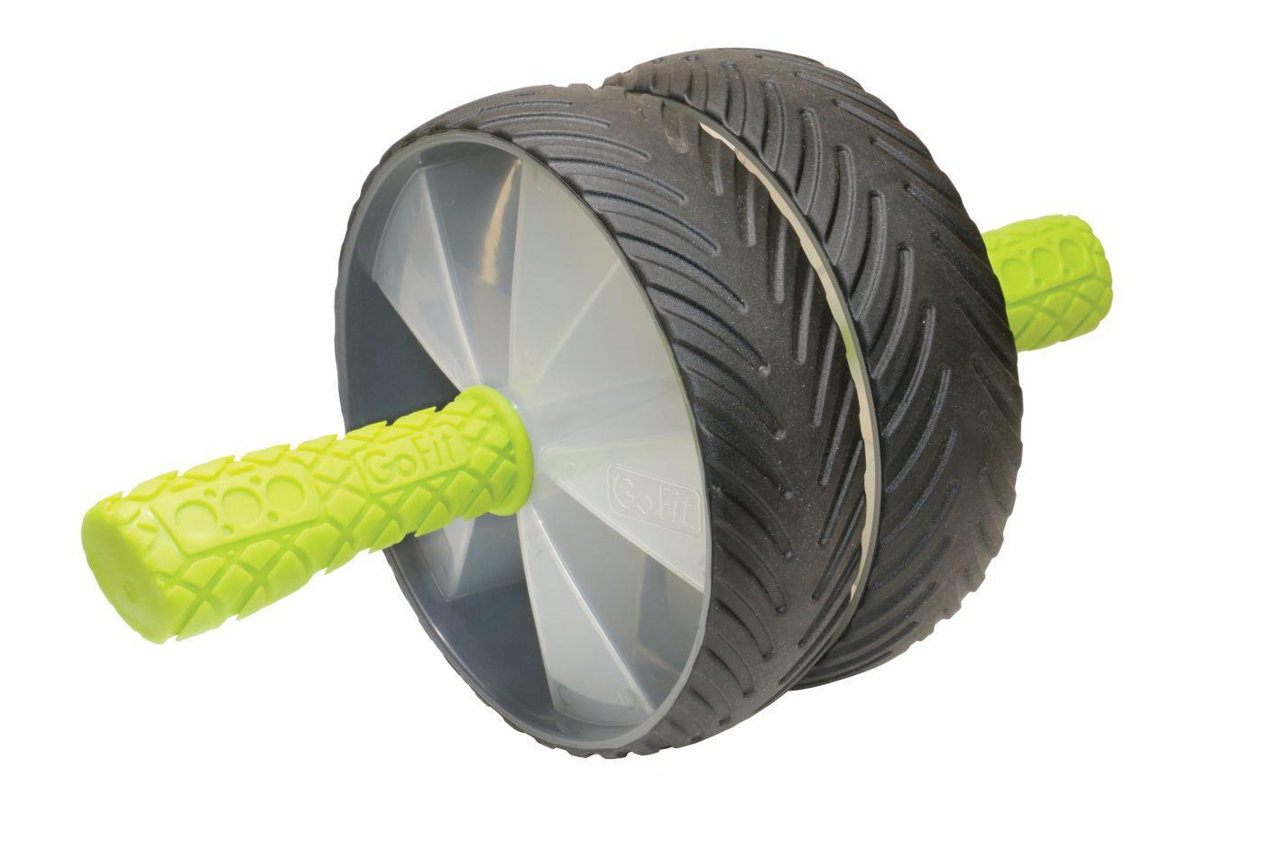 GoFit Deluxe Dual Ab Wheel
