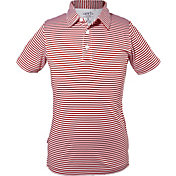 Garb Boys' Striped Carson Golf Polo