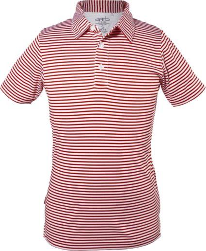 Garb Boys' Striped Carson Golf Polo